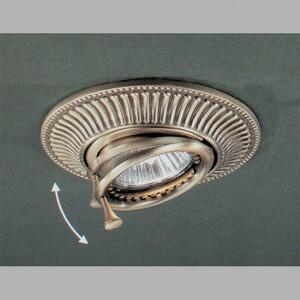 Встраиваемый светильник Reccagni Angelo 1082BRONZO