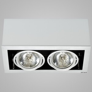 Накладной светильни Nowodvorski 5316 box gray