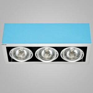 Накладной светильни Nowodvorski 5337 box turquoise