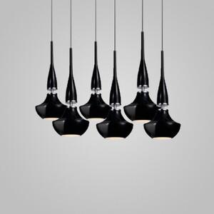 Подвесной светильник Azzardo md2095-6bk Tasos