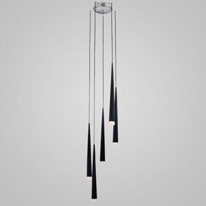 Подвесной светильник Azzardo md 1220a-5-black Stylo