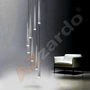 Подвесной светильник Azzardo md 1220a-8-chrome Stylo