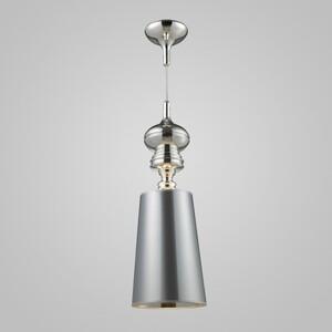 Подвесной светильник Azzardo ad 7121-1 silver Baroco