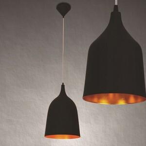 Подвесной светильник Azzardo lp 5632-bk-l Fabio