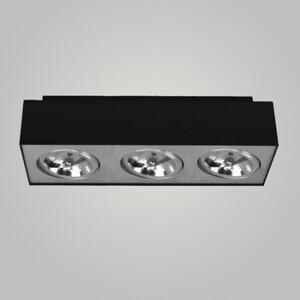 Накладной светильник Azzardo gm4301 black Paulo