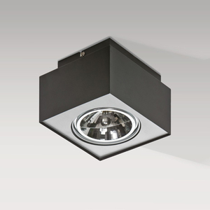 Накладной светильник Azzardo gm4107 black Paulo