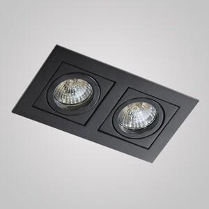 Встраиваемый светильник Azzardo gm2201_bk Paco