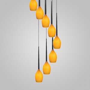 Подвесной светильник Azzardo md 1288a-8so Izza