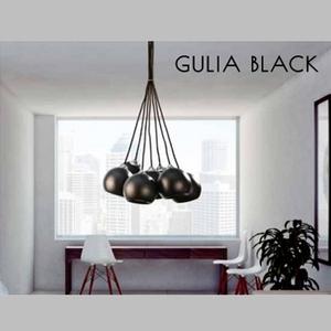 Подвесной светильник Azzardo fh5957-bj-120 black Gulia