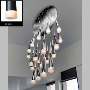 Подвесной светильник Azzardo lp9003-24-black Brina
