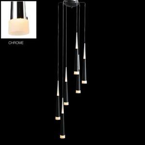 Подвесной светильник Azzardo lp9003-6-chrome Brina