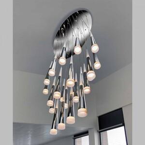 Подвесной светильник Azzardo lp9003-24-chrome Brina