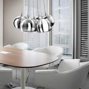 Подвесной светильник Azzardo pl_6084_chrome_white Noa
