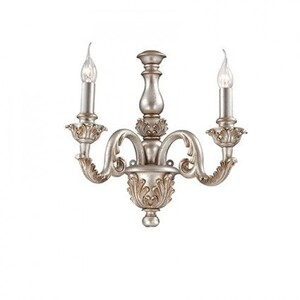 Бра Ideal Lux GIGLIO ARGENTO AP2 75242