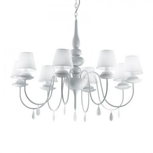 Люстра Ideal Lux BLANCHE SP8 35574