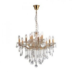 Люстра Ideal Lux FLORIAN SP12 ORO 35611
