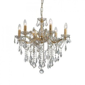 Люстра Ideal Lux FLORIAN SP6 ORO 35635