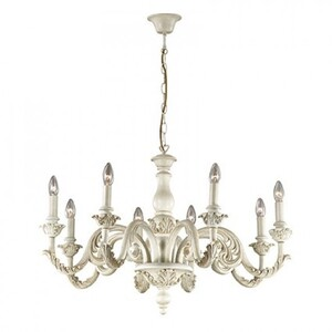 Люстра Ideal Lux GIGLIO SP8 BIANCO 88587
