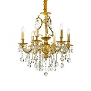 Люстра Ideal Lux GIOCONDA SP8 ORO 60514