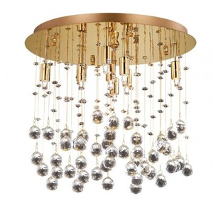 Люстра Ideal Lux MOONLIGHT PL8 ORO 80932