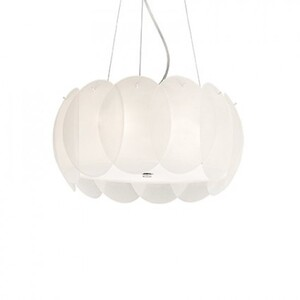 Люстра Ideal Lux OVALINO SP5 BIANCO 74139