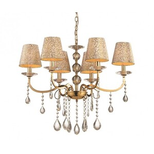 Люстра Ideal Lux PANTHEON SP6 ORO 88068