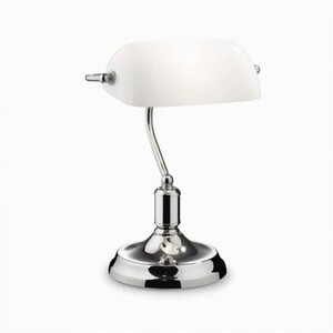 Настольная лампа Ideal Lux LAWYER TL1 CROMO 45047