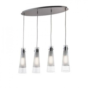 Подвесной светильник Ideal Lux KUKY CLEAR SP4 23038