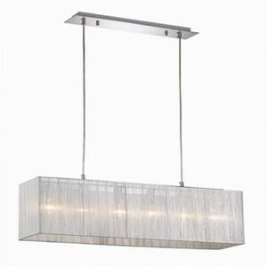Подвесной светильник Ideal Lux MISSOURI SB6 ARGENTO 35925