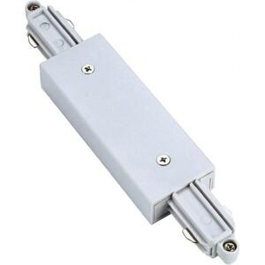 Коннектор прямой с подводом питания для однофазных трековых систем SLV 143101
