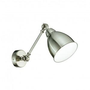 Светильник настенный Ideal Lux NEWTON AP1 NICKEL 16399