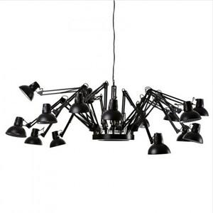 Люстра Spaider-16 Black