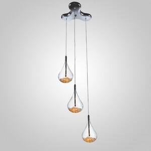 Подвесной светильник Zumaline Perle P0226-03B-F4RK