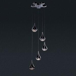 Подвесной светильник Zumaline Perle P0226-05B-F4RK