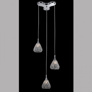 Подвесной светильник Zumaline Iris P0349-03B
