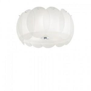 Светильник потолочный Ideal Lux OVALINO PL5 BIANCO 93963
