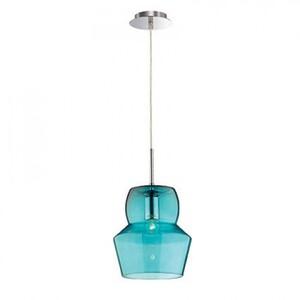 Светильник подвесной Ideal Lux ZENO SP1 SMALL AZZURRO 036120