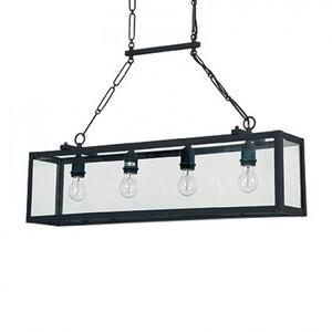 Подвесной светильник Ideal Lux IGOR SP4 NERO 092942