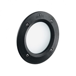 Светильник уличный Ideal Lux LETI ROUND FI1 NERO 096551