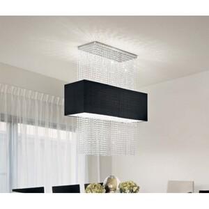 Подвесной светильник Ideal Lux PHOENIX SP5 NERO 101163