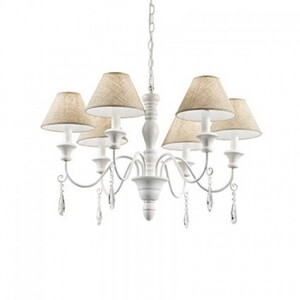 Люстра Ideal Lux PROVENCE SP6 BIANCO ANTICO 003399