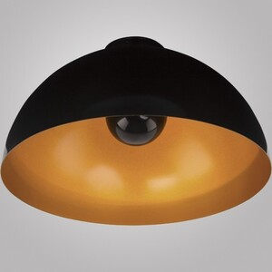 Светильник потолочный Nowodvorski 6934 HEMISPHERE CEILING BLACK-GOLD