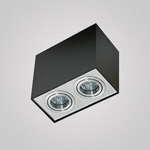 Накладной светильник Azzardo gm4204_bk_alu Eloy