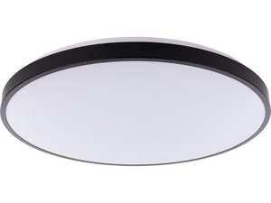 AGNES ROUND LED BLACK 64W